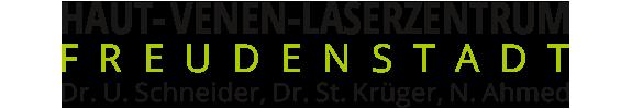 HAUT-VENEN-LASERZENTRUM FREUDENSTADT Dr. med. Ulrich Schneider, Dr. med. Stephan Krüger & Naser Ahmed Logo
